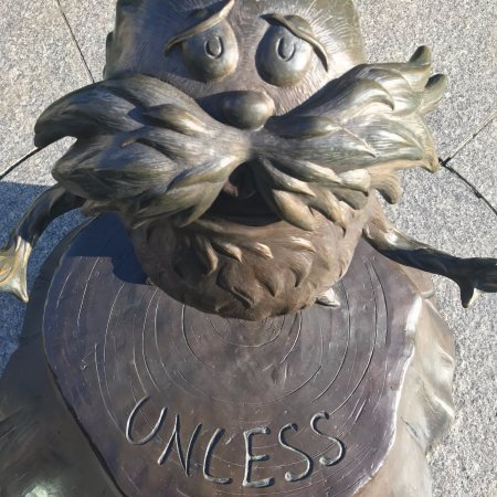 Dr. Seuss National Memorial Sculpture Garden: Unless someone like you cares a whole awful lot, nothing is going to get better. It's not.