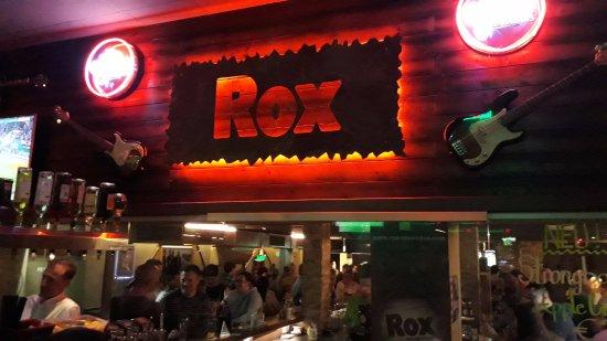 Rox Bar & Grill: Die Theke