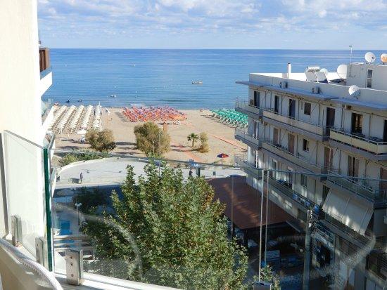 Kriti Beach Hotel: Unser Meerblick