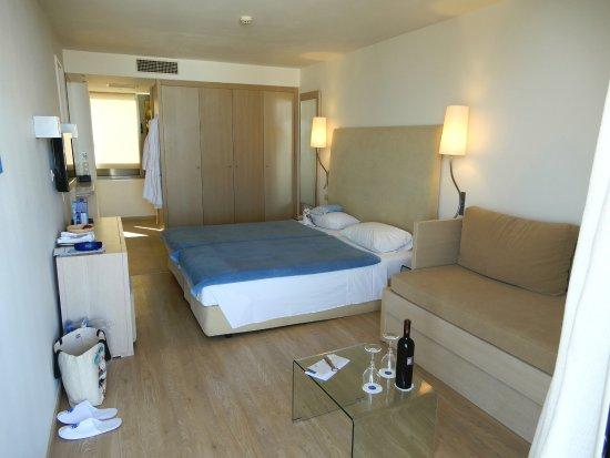 Kriti Beach Hotel: Junior-Suite / Zimmer 418