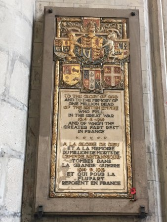 Eglise Saint Maurice: Dedication to the fallen in the Great War