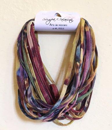 La Botteghina Solidale: Based on Milvio Sodi - very unique necklace/scarf