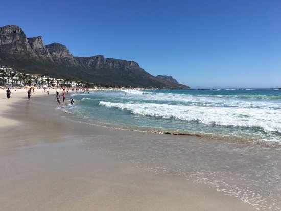 Camps Bay beach and bathing