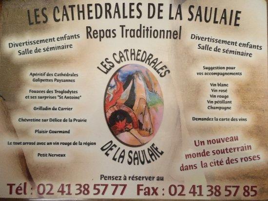 Les Cathedrales de la Saulaie : Pour réserver