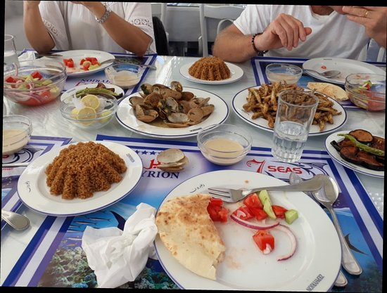 Zephyrion fish alexandria restaurant reviews phone for Alexandria mediterranean cuisine