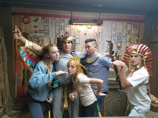 Valparaiso, IN: Get your Egyptian groove on in King Tut's curse!