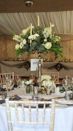 Ham, UK: Party Table Arrangement