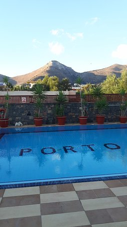 Corali Studios & Portobello Apartments: Swimming pool with a great view