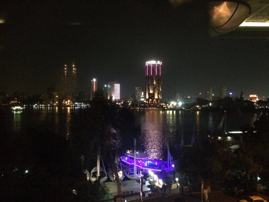 Four Seasons Hotel Cairo at Nile Plaza: View from 8