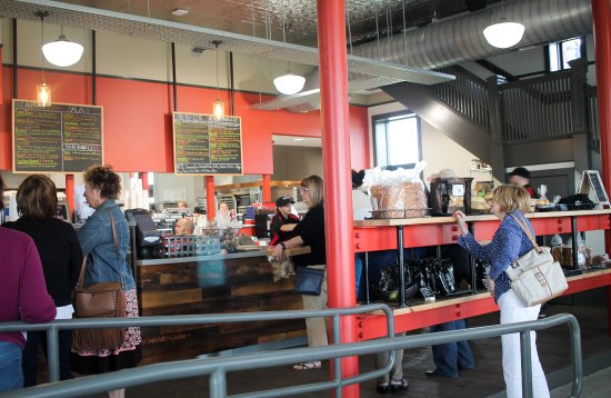 The FireHub restaurant and food pantry in Battle Creek, MI