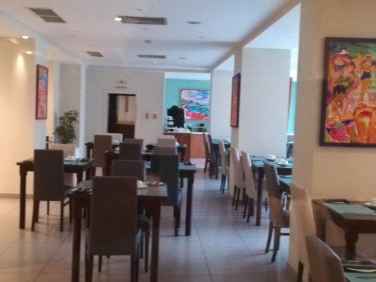 Argento Hotel: Sala colazione