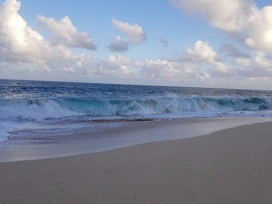 Ke Iki Beach Bungalows: Big beautiful Ocean
