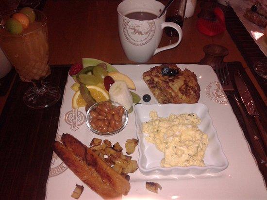 Carleton-sur-Mer, Canada: petit déjeuner
