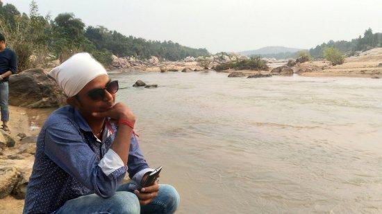Gumla, India: Baghmunda Waterfall