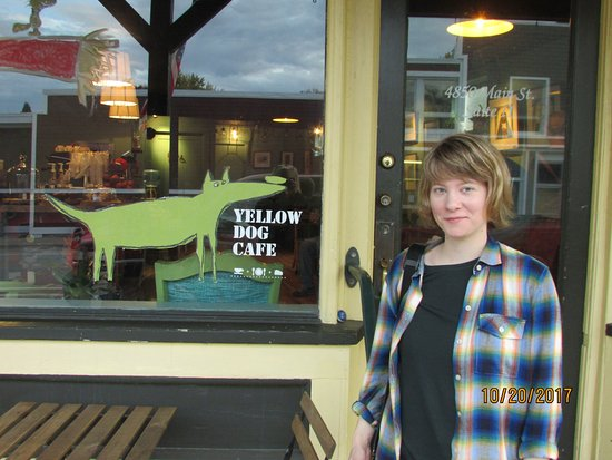 Onekama, MI: Yellow Dog Cafe!