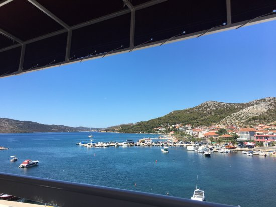 Seget Vranjica, Croacia: view from room