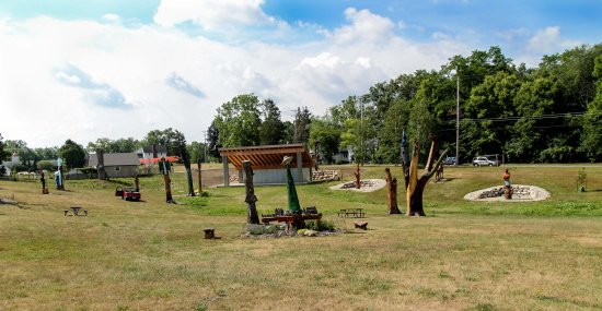 Battle Creek, MI: The Fantasy Forest at Leila Arboretum