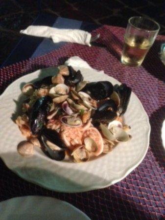 Ristorante O'Puledrone: Seafood risotto