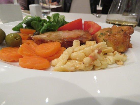 Begunje na Gorenjskem, Slovenia: Main dish