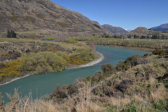 Arrowtown, Nieuw-Zeeland: Bicycle trail