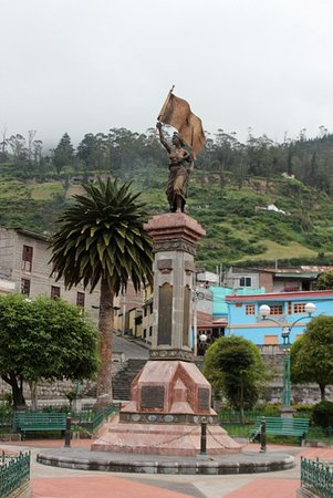 Alausi, Ecuador: Il monumento