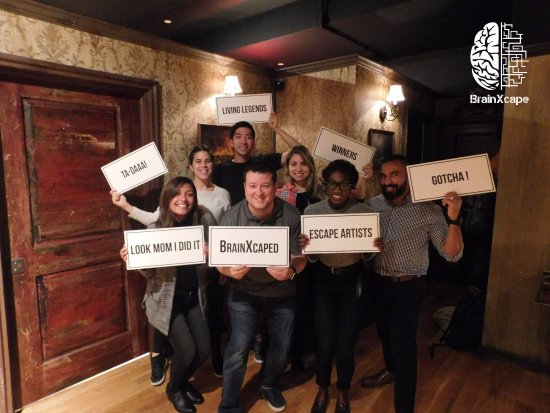 ‪BrainXcape Escape Room Game NYC‬