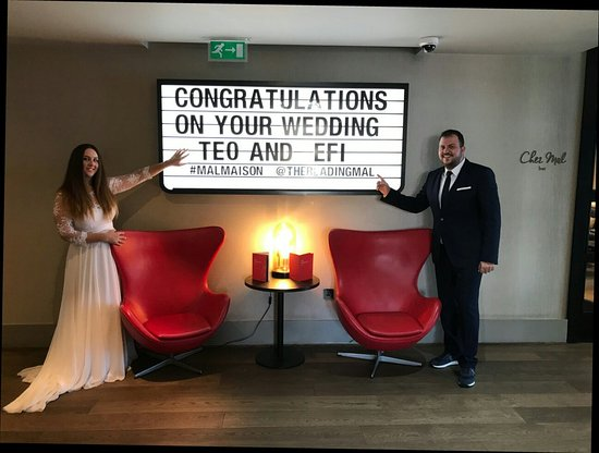 Malmaison Reading: Wedding photos