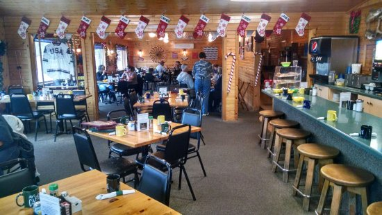 Eagle River, WI: Dining area