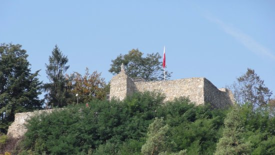 Ruins of the Castle In Muszyna