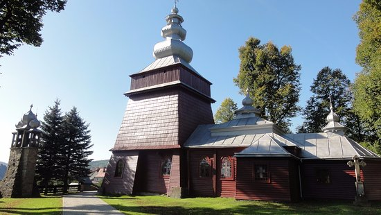 Orthodox church of St. George John the Evangelist in Muszyna
