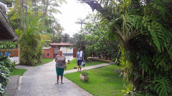 Pousada Paisagem : Jardim