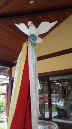 Pousada Paisagem : Decoração recepção