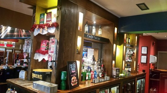 Seating area – obrázok The Highwayman, Greene King Pub & Carvery, Graveley - Tripadvisor