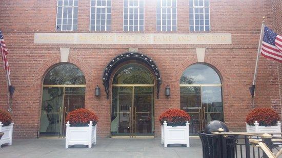 National Baseball Hall of Fame and Museum: Entry to Hall of Fame and Museum