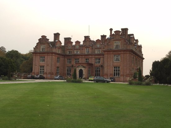 Barham, UK: The front of the mansion