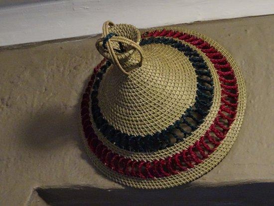 Sani Pass, Lesotho: chapeau typique du LESOTHO