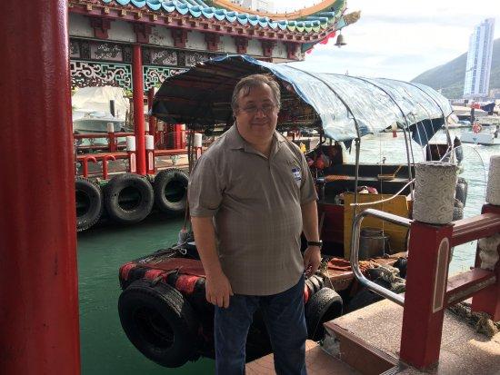 Gray Line Tours of Hong Kong: At Aberdeen Fishing Village