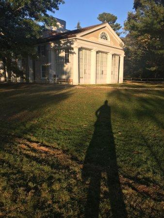 Vanderbilt Mansion National Historic Site : Visitor Center/gift shop/tickats sale - Vanderbilt estate