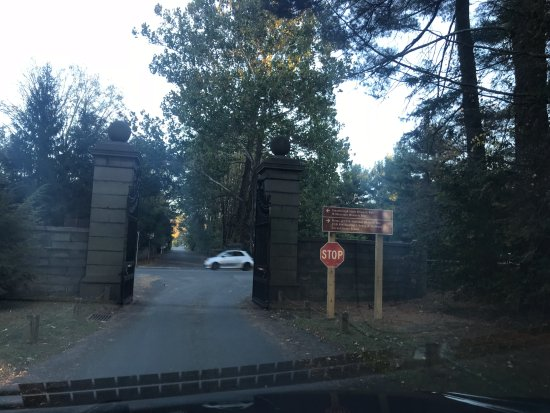 Vanderbilt Mansion National Historic Site : Vanderbilt estate