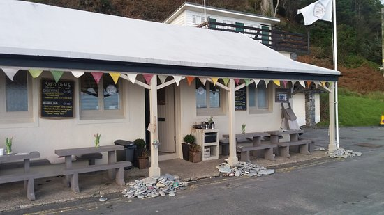 Laxey, UK: The Shed
