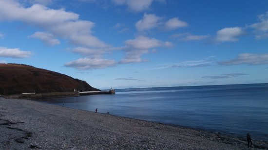 Laxey, UK: View to the left