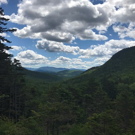 Lost River Gorge and Boulder Caves: View from lookout