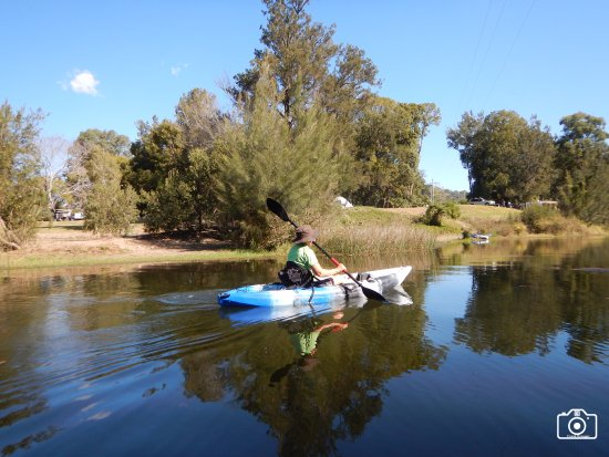 Imbil, Australia: Great for kayaks