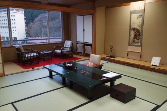 Chambre traditionnelle japonaise - Picture of Asanoya, Shinonsen ...