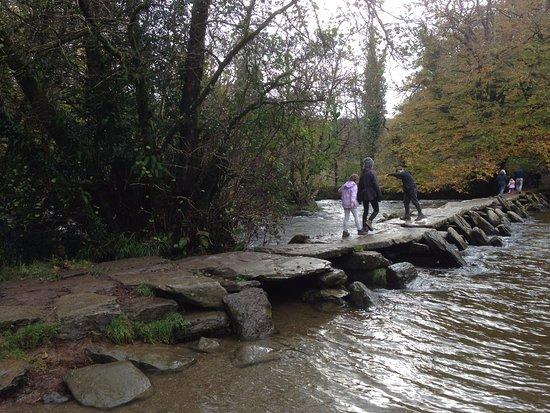 Exmoor National Park, UK: Tarr Steps - October