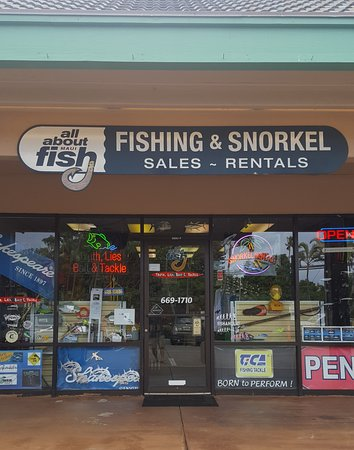 All about fish lahaina all you need to know before you for Fishing equipment rental