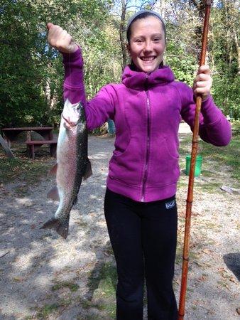 Cascade, WI: Nice catch!
