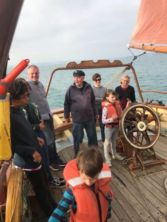 Vigilance of Brixham: Great days sailing on The Vigilence