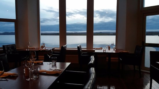 Aultbea, UK: view from restaurant