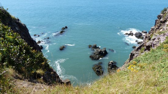 Grand Manan, Canada: Cliffs at Southwest Head